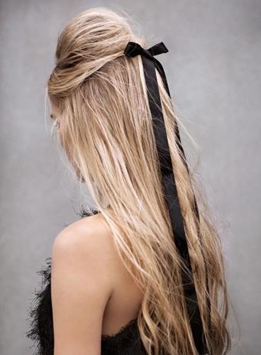 coiffure noeud